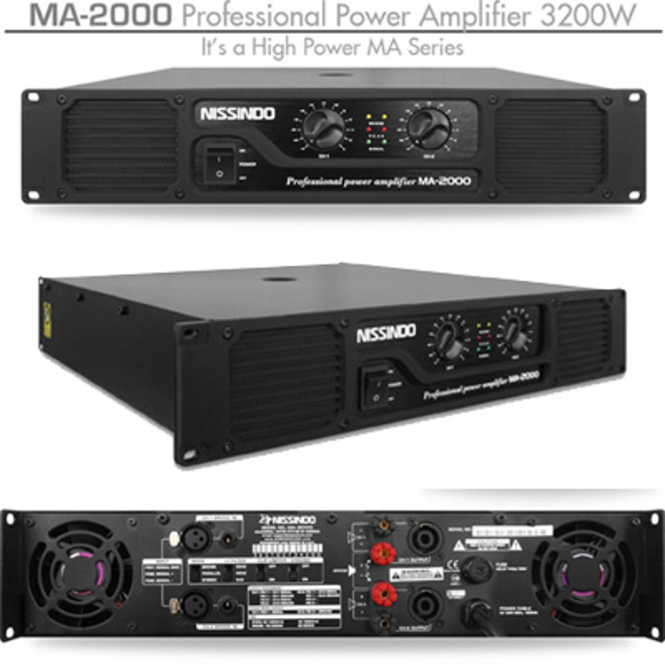 Picture of NISSINDO MA-2000 POWER AMPLIFIER