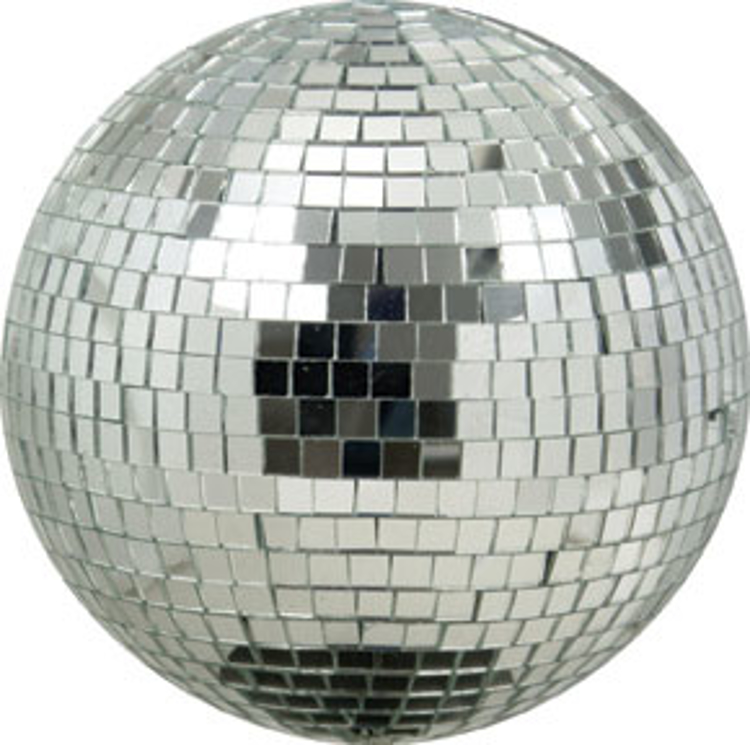 "Picture of AMERICAN DJ MIRROR BALL 8"" MODEL # M-800"