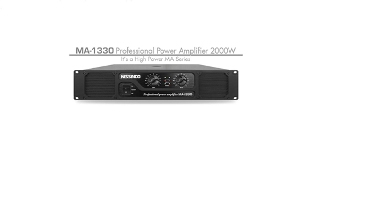 Picture of NISSINDO MA-1330 Professional Power Amplifier