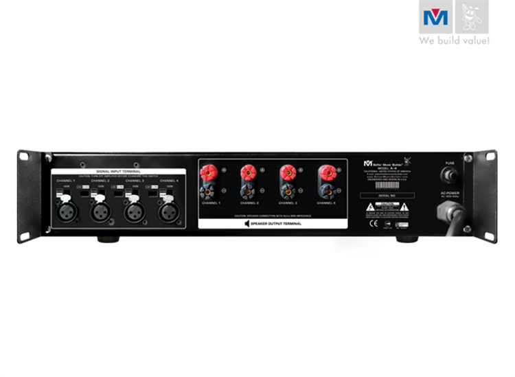 Picture of (M) BETTER MUSIC BUILDER A-4 POWER AMPLIFIER 1600 WATTS
