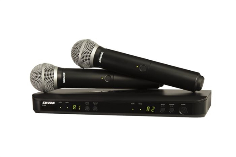 Picture of SHURE MICROPHONE BLX288/PG58
