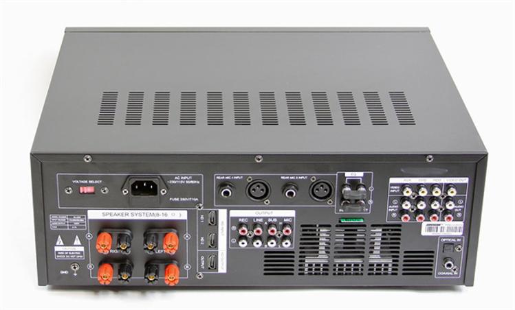 Picture of BASON Karaoke Mixing Amplifier BA-4800 1200 Watts
