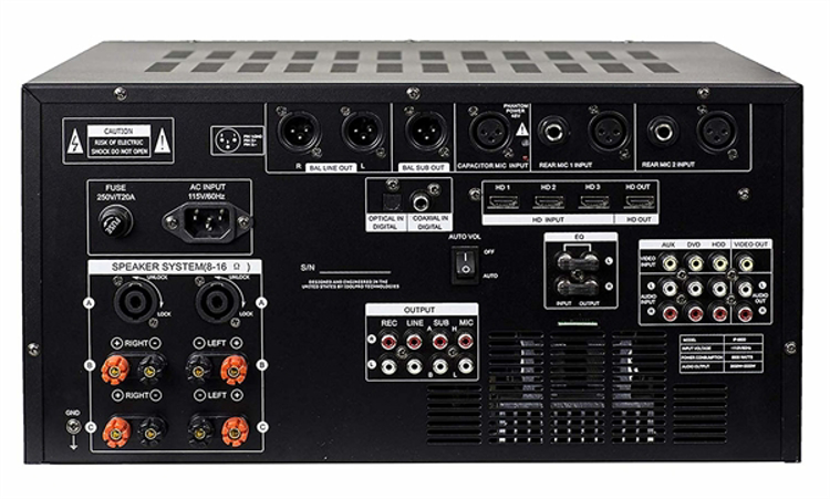 Picture of IDOLmain IP-6500 6000W Karaoke Mixing Amplifier /w Digital Sound Effects And Optical Input NEW- 2019