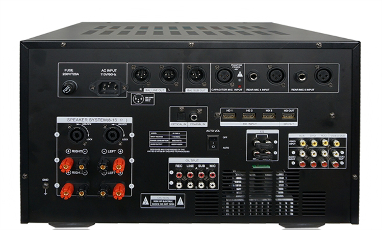 Picture of IDOLMAIN IP-7000 II Professional Digital Console Mixing Amplifier 8000 Watts