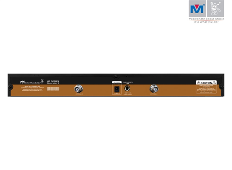 Picture of (M) Better Music Builder  VM-82U G5 Dual Channel UHF Wireless Microphone System