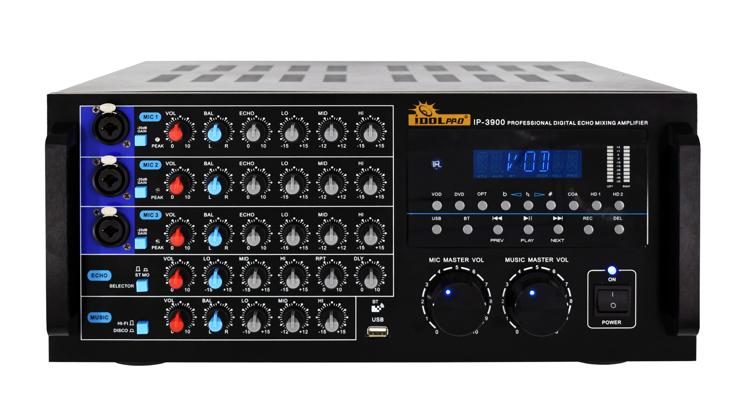 Picture of IDOLpro IP-3900 2600W Karaoke Mixing Amplifier